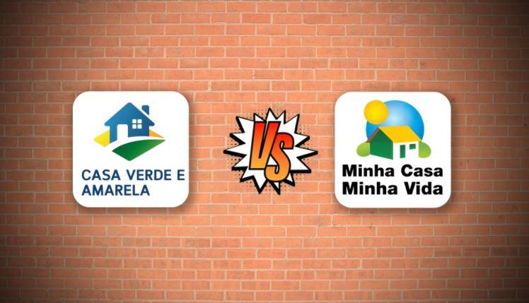 Diferenças entre o Casa Verde Amarela e Minha Casa Minha Vida