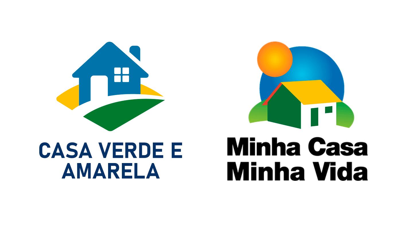 Casa Verde e Amarela e Minha Casa Minha Vida